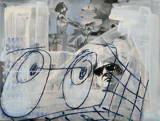 Aus der Serie Neige1, 60 x 80 cm, 2014