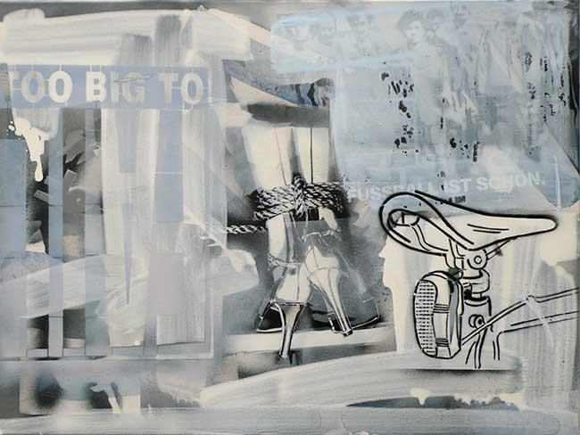 Aus der Serie Neige2, 60 x 80 cm, 2014