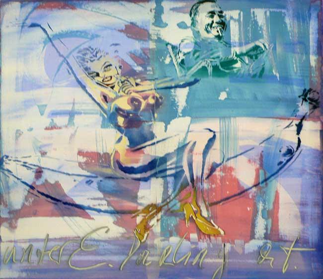Edarling, 80 x 100 cm, 2014