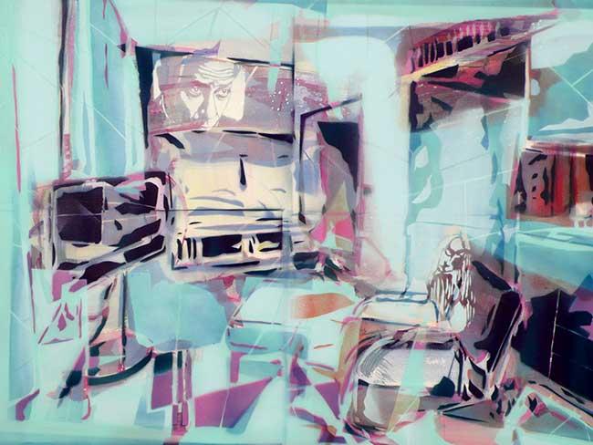 Interieur1, 60 x 80 cm, 2014