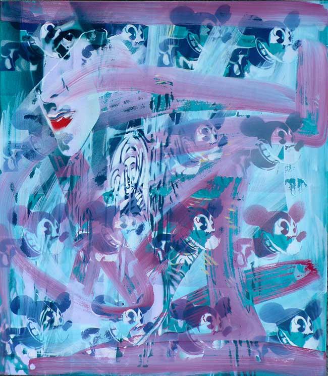 Mickey, 70 x 80 cm, 2014