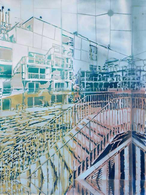Spiegelung, 60 x 80 cm, 2014