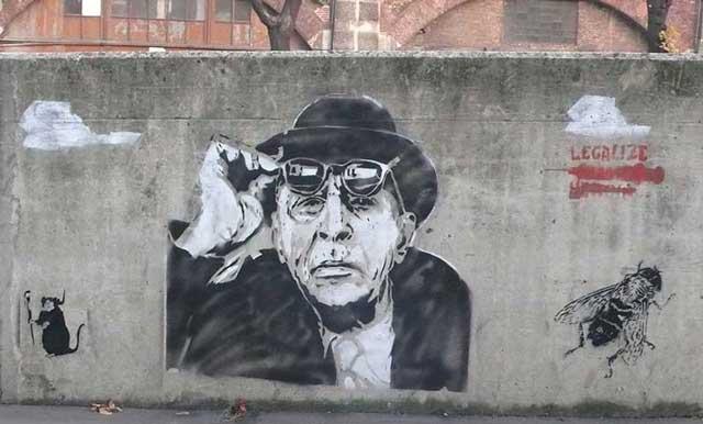 Stencil Street Art 1
