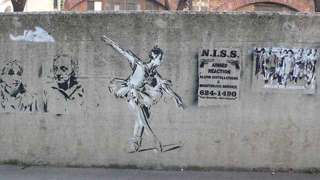 Stencil Street Art 3