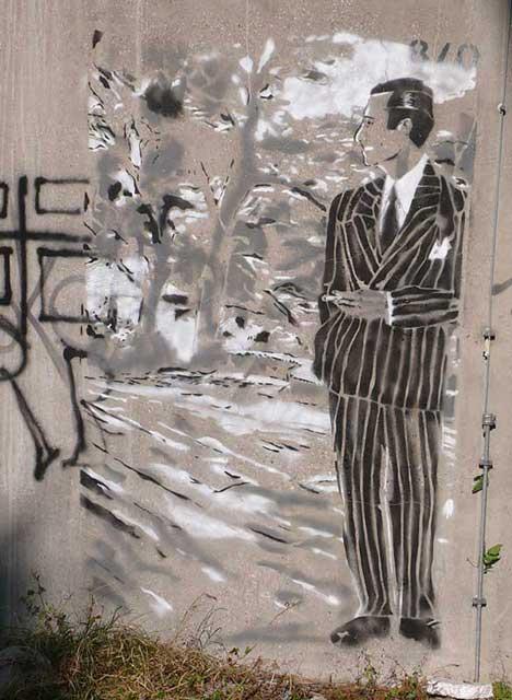 Street Art Hommage Katz